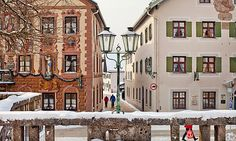 Partenkirchen in the Bavarian Alps. Or, a scene from a claymation Christmas movie. –ecb