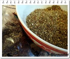 Jedlíkovo vaření: Domácí grilovací koření Korn, How To Dry Basil, Pesto, Herbs, Homemade, Cooking, Recipes, Hana, Syrup