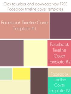 FREE Facebook Timeline Cover Template