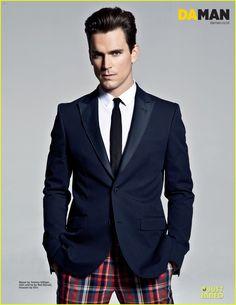 Matt Bomer: 'Da Man' Magazine Fashion Feature