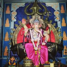 New pin for Ganpati Festival 2015 is created by by mumbai_ganesha with #Mumbai_ganesha Santacruz cha Vigneshwar #mumbai #ganesha #ganpati #bappa #morya #ganpatibappamorya #ganpatibappa #bappamorya #ganeshchaturthi #ganeshchaturthi2015 #ganeshutsav #ganeshutsav2015 #firstlook #ganpati2015 #santacruzchavigneshwar #santacruz #villeparle #parle #vakola #throne #amazing #festival #maratha #maharashtra #blessings #family #friends #unique #bullriding Follow us and share