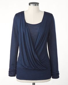 Divinity draped tee  Was $59.95 - $69.95  Sale $49.99 +40% Off
