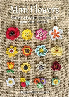 Ravelry: Mini Flowers - crochet patterns #diy #tutorial