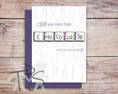 Periodic table birthday card google search text box pinterest printable mothers day card greetings card periodic table for her birthday unique mothers day card funny birthday card 5 x 7 inch urtaz Gallery