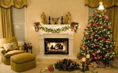 Christmas room decor - Gone are the days when the only use for designing the Christmas lights was tree decoration and vacations. Natural Christmas Tree, Beautiful Christmas Trees, Mini Christmas Tree, Christmas Room, Christmas Tree Themes, Christmas Lights, Christmas Spectacular, Christmas Ideas, Holiday Decor