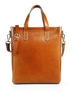 Salvatore Ferragamo - Leather Tote Bag