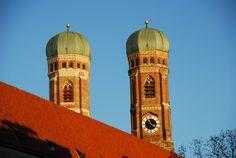 Frauenkirche in der Wintersonne