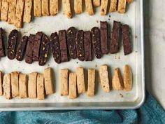 Lemon, Olive Oil, and Almond Biscotti