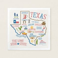 Shop Texas State Landmarks Illustration Trivet created by LoneStarLizzie. Personalize it with photos & text or purchase as is! Texas Crafts, Texas Diy, Texas Bluebonnets, Texas Pride, Texas History, Blue Bonnets, Office Gifts, Map Art, Illustrations Posters
