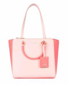 Dimensions H26cm x W34cm x D14.5cm - Light Pink | Bags | Ted Baker