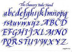 Chancery Italic