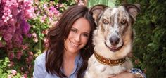 Jennifer Love Hewitt. Love may be her middle name but the 34 yr old actress says she learned Unconditional Love from dogs. The recent loss of her mother is what inspired Jennifer to get Duke - her very first rescue animal and she said he has helped her tremendously. Now the two are inseparable and Duke even has his own trailer where he hangs out on set and in between takes they hang together. In fact everyone on the set stops by Duke's Room for a visit.