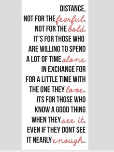 LDR | Long Distance Relationship quotes