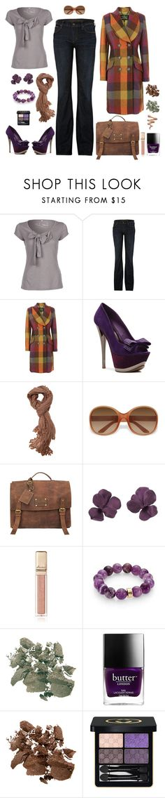 """""""Sans titre #25"""" by carolinesaracosa77 on Polyvore featuring mode, Fresh Made, Citizens of Humanity, Vivienne Westwood Anglomania, 2 Lips Too, Walnut Melbourne, Prada, O My Bag, Guerlain et Nest"""