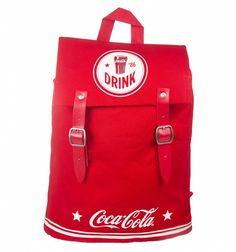 Coca-Cola Americana Canvas Drawstring Backpack