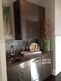 2013 Columbia Parade Of Homes  Wet Bar Provided By KB Kitchen And Bath.  Contact