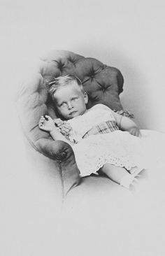 Prince Waldemar, 3rd son of the Crown Prince of Prussia, 1869. [Album: Photographs. Royal Portraits, vol.50] | Royal Collection Trust