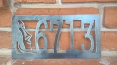 TikiHouse NumbersMetal NumbersMetal SignTiki by RetroAZ on Etsy