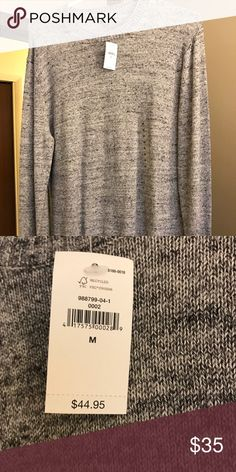 Men's sweater from Gap Long sleeved light grey sweater. Very nice and casual GAP Shirts Tees - Long Sleeve