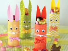 Toddler Crafts for Easter . 15 toddler Crafts for Easter . Bunny Crafts, Easter Crafts For Kids, Toddler Crafts, Diy For Kids, Cute Easter Bunny, Easter Art, Easter Eggs, Paper Roll Crafts, Diy And Crafts