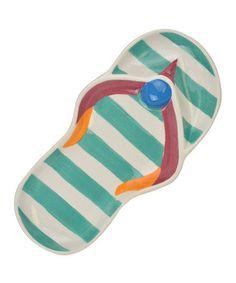 Another great find on #zulily! Flip-Flop Platter by Design Imports #zulilyfinds