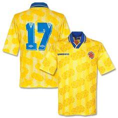 Umbro 94-96 Colombia Home Shirt   No 17 - Grade 8 94-96 Colombia Home Shirt   No 17 - Grade 8 http://www.comparestoreprices.co.uk/football-shirts/umbro-94-96-colombia-home-shirt- -no-17--grade-8.asp