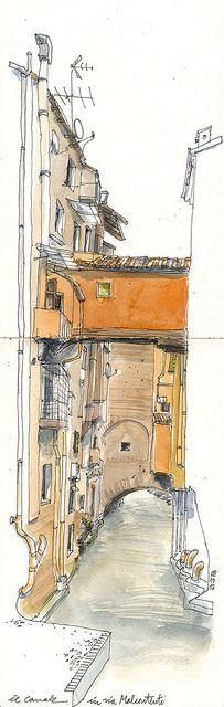 canale delle Moline by schizzinosa, via Flickr