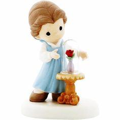Precious Moments Disney Belle Our Love Is Forever in Bloom Figurine 930005   eBay
