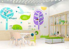© BRANDEXPERT Freedom Island. Intrior design for kids store.  Фирменный стиль и позиционирование в дизайне интерьера — центр выдачи заказов в новом магазине «Купи коляску»
