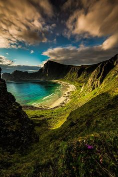 The hidden beach ~ Norway 2014   - Explore the World, one Country at a Time. http://TravelNerdNici.com
