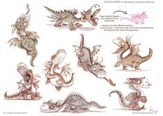 Lil' dragons