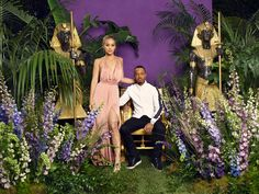 Jasmine Sanders & Terrence J. Photography by Awol Erizku Terrence J, Anthony Anderson, Downtown Los Angeles, Celebrity Couples, Mtv, Love Her, Wonder Woman, Photoshoot, Actresses
