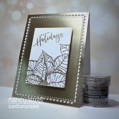 Christmas In July, Christmas Cards, Holiday, Poinsettia Cards, Embossing Powder, Love Hug, Foam Crafts, Simply Beautiful, Card Stock
