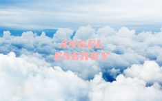 angel energy background