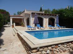 Ferienhaus Cala Llombards in Santanyi & Umgebung: 2 Schlafzimmer, für bis zu 4 Personen. Ferienhaus mit Pool, wenige Minuten vom Strand | FeWo-direkt