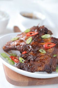 Slow Cooker Peppery Asian Ribs - Good amount of kick. Putting them under the broiler is a must. very yummy!