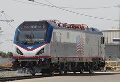 Siemens ACS-64 Electric Locomotive by Amtrak in USA