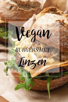 champignon-linzen burgers met gekarameliseerde uien No Cook Meals, Cheddar, Healthy Recipes, Healthy Food, Bbq, Good Food, Food And Drink, Health Fitness, Veggies