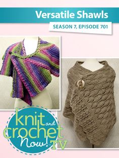 Ravelry: Knit and Crochet Now! Knit And Crochet Now, Knit Crochet, Deborah Norville, Bead Kits, Season 7, Shawls, Sewing Patterns, Stitch, Knitting