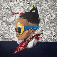 Hebru Brantley - LOLLAPALOOZA