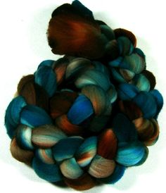 Fathom 2 Merino Wool Top for spinning and felting 4 by yarnwench, $17.00