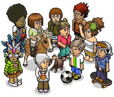 Habbo - The product/game we support!