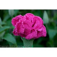 $3.99 Crochet pattern - Carnation Crochet Pattern - https://lynscrafts.com/yarnstore/39-patterns-for-sale