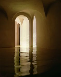 James Casebere, James Turell, Bill Viola, Amazing Photography, Landscape Photography, Tableaux Vivants, Shadow Play, Light And Shadow, Color Inspiration