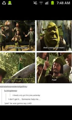 Naughty jokes in children's movies // tags: funny pictures - funny photos - funny images - funny pics - funny quotes - Shrek Memes, Funny Memes, Hilarious, Memes Humor, Funny Shit, Funny Stuff, Funny Quotes, Dreamworks Animation, Disney And Dreamworks