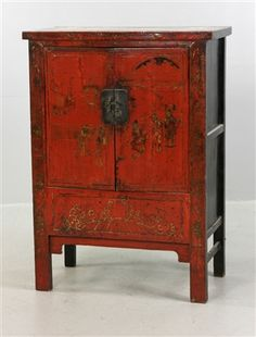 Chinese Decorated Cabinet