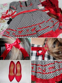Vestido junino infantil!! Little Girl Dresses, Girls Dresses, Summer Dresses, Ruffle Dress, Baby Dress, Sewing Clothes, Doll Clothes, Country Dresses, Kids Frocks