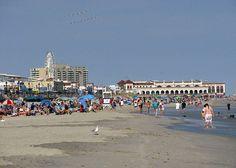 Beach, Boardwalk, and Music Pier - Ocean City, NJ via Flickr