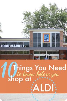 "If you are new to ALDI, or perhaps wandered in once before but thought it was ""weird"", I want you to know that you can have a phenomenal money-saving experience there. Before you go for the first time -- or the next time -- here are 10 little-known things you must know first."