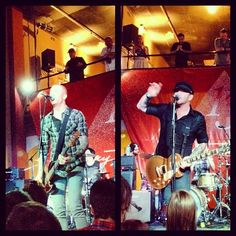 Max from #Eve6 and Jason from #GoRadio #SXSW